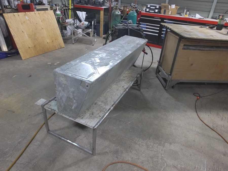 Aluminum Fuel Tank Fabrication and Repair